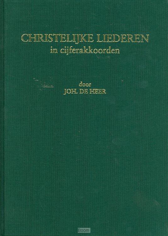 Christelijke liederen in cijferakkoorden van der boom