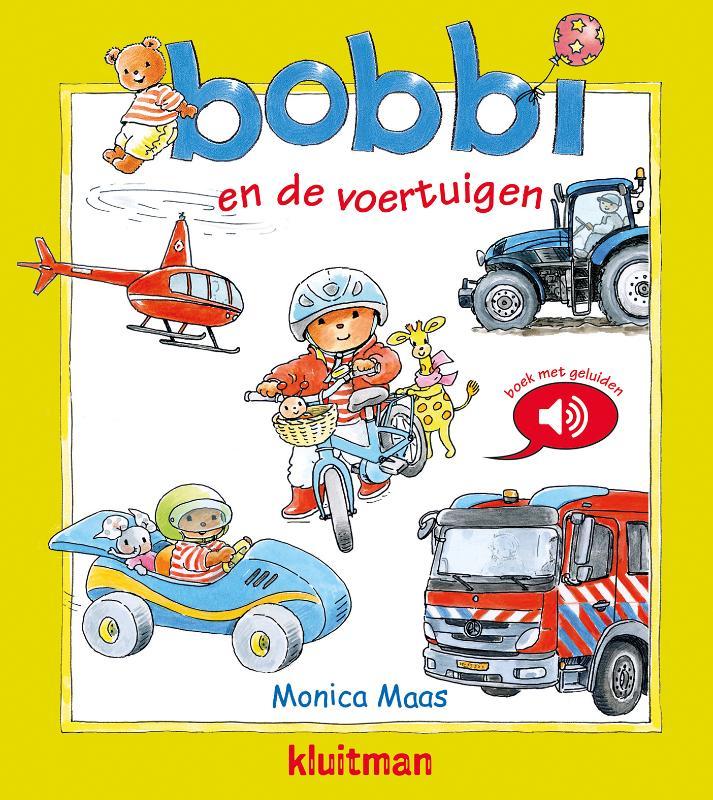 Bobbi en de voertuigen - geluidenboek