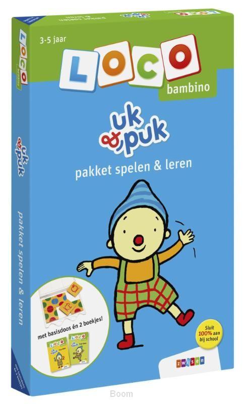 Loco bambino uk & puk pakket spelen & le