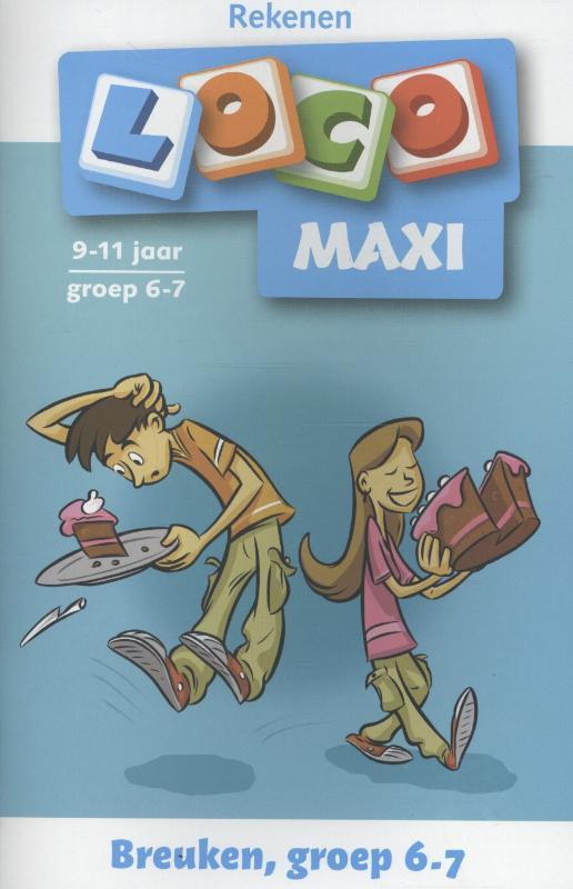 Loco Maxi / Rekenen Breuken groep 6-7