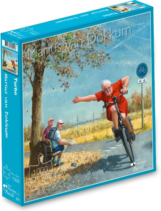 Marius van Dokkum - Turbo Puzzel 1000 st