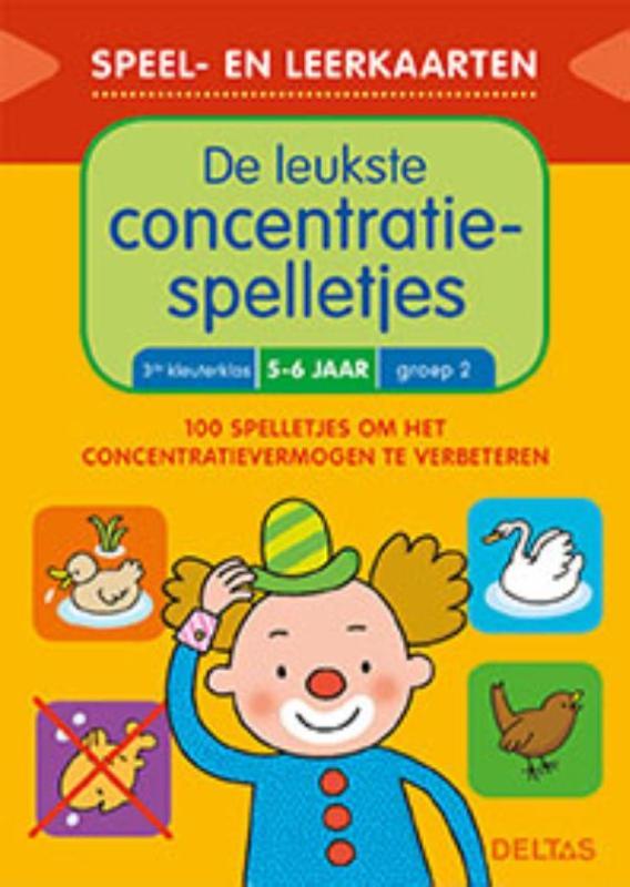 Speel- en leerkaarten - De leukste concentratiespelletjes (5-6 j.)