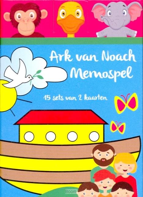Spel memo ark van Noach