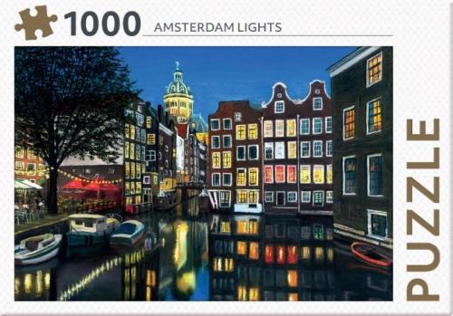 Amsterdam lights - puzzel 1000 stukjes