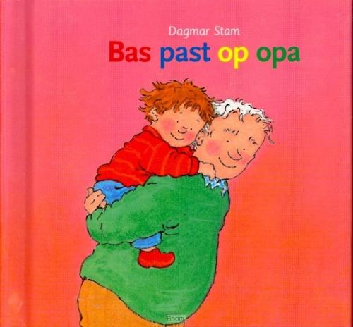 Bas past op opa - kleine versie