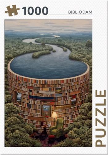 Bibliodam - puzzel 1000 stukjes