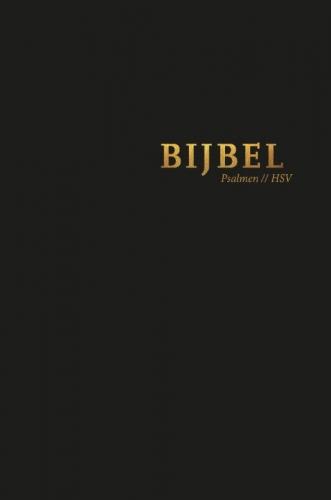 Bijbel (HSV) met psalmen - hardcover zwa