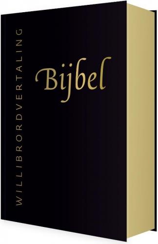 Bijbel (WV) in leer met goudsnee, rits e
