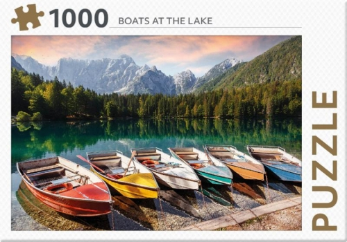 Boats at the lake - puzzel 1000 st