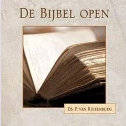 De Bijbel open