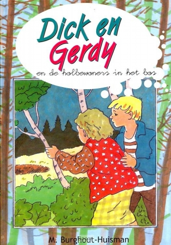 Dick en Gerdy en de holbewoners in het bos / 10