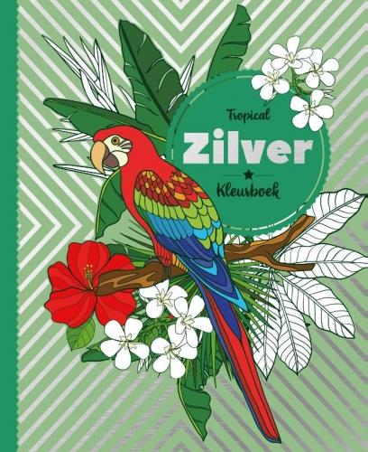 Folie kleurboek Tropical