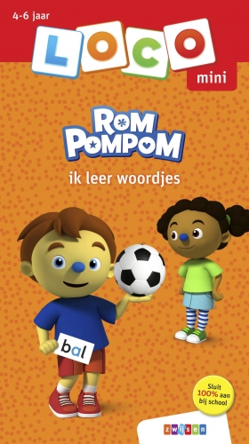 Loco mini rompompom ik leer woordjes