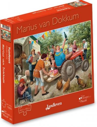 Marius van Dokkum - Tuinfeest  -  Puzzel