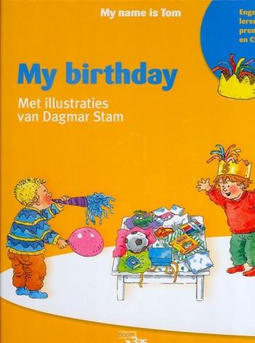 My birthday prentenboek My name is Tom