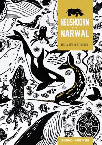 Narwal en neushoorn