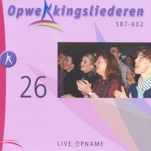 Opwekking 26 cd  (587-602)