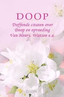 Pareltje doop roze