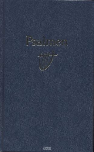 Psalmboek 1773 blauw 12g ritmisch harde