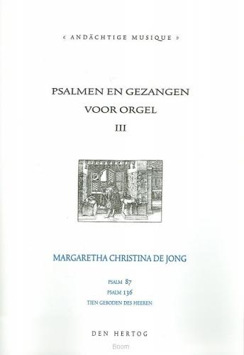 Psalmen en gezangen 3 voor orgel