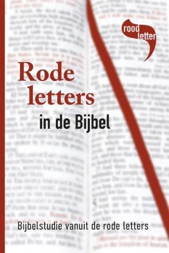 Rode letters in de Bijbel