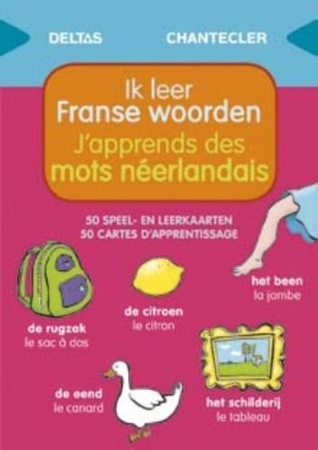 Speel- en leerkaarten - Ik leer Franse w