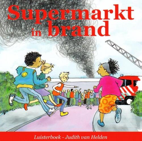 Supermarkt in brand LUISTERBOEK