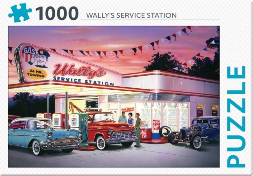 Wally's service station - puzzel 1000 st
