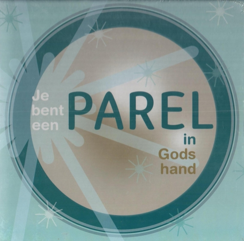 Wandbord je bent een parel in God 22x22c