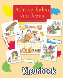 Acht verhalen van Jezus - kleurboek