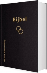 Bijbel Huwelijksbijbel Herziene Statenvertaling zwart