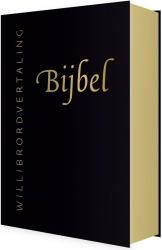 Bijbel (WV) in leer met goudsnee (zwart)