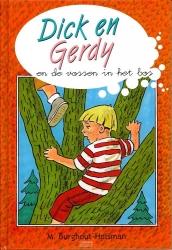 Dick en Gerdy en de vossen in het bos