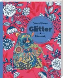 Glitter kleurboek Oriental dreams