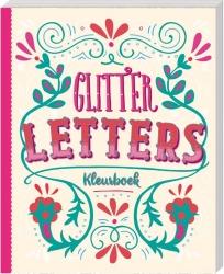 Glitterkleurboek - Letters