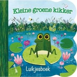 Kleine groene kikker luikjesboek