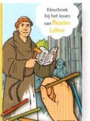 Kleurboek bij het leven van Maarten Luther