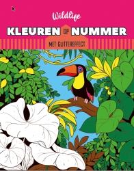 Kleuren op nummer - Wildlife