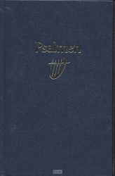 Psalmboek 1773 blauw 12g ritm harde band