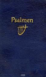 Psalmboek 1773 blauw 12g ritm slap kaft