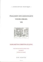 Psalmen en gezangen 7 voor orgel