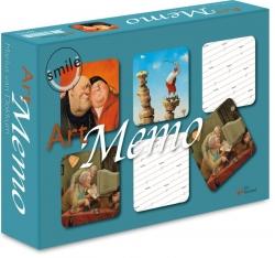 Smile Art Memo spel 24 sets