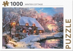 Winter Cottage - puzzel 1000 st